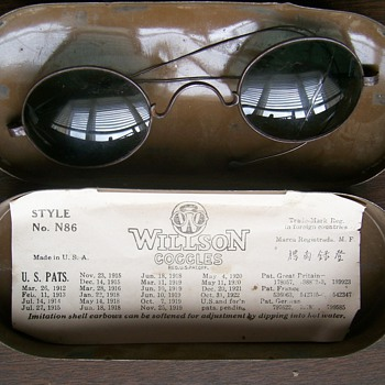 Willson Goggle Sunglasses/Safety Glasses 1919