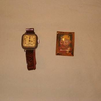 old children's toys/ cracker jack toy - Wristwatches