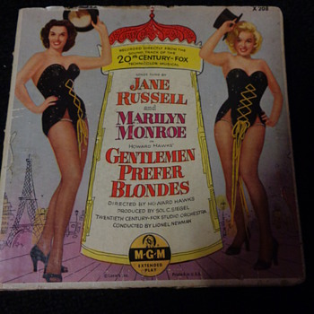 Gentlemen Prefer Blondes soundtrack