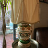 """Hani Chilo"" or ""Chilo Inch"" Vintage Hand-PaintedJar Lamp"
