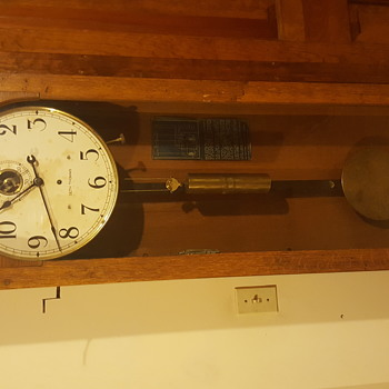 Seth Thomas Master Regulator Clock - Clocks