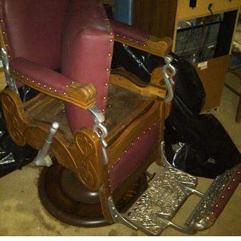 Koken Barber Chair 19xx?? - Furniture