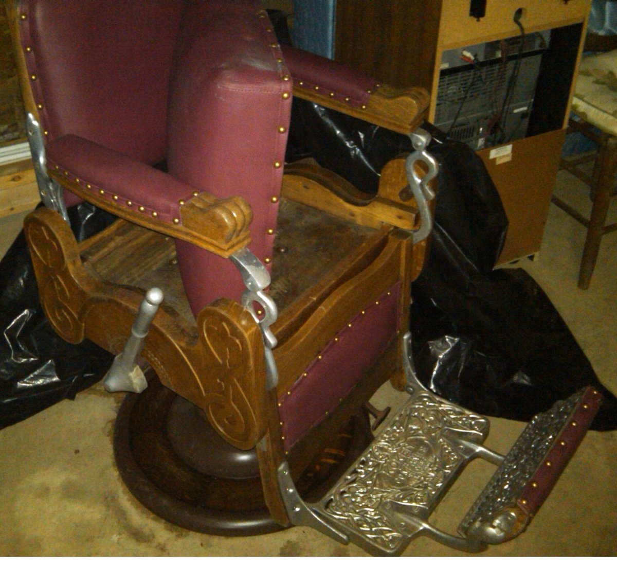 koken barber p chair chairs