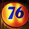 Old 76 sign