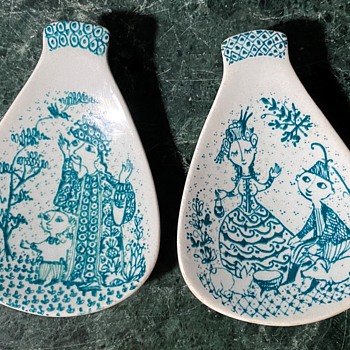What are these things by Bjorn Wiinblad? - Pottery