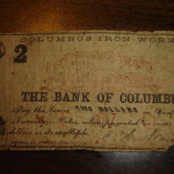 Confederate Bills - US Paper Money