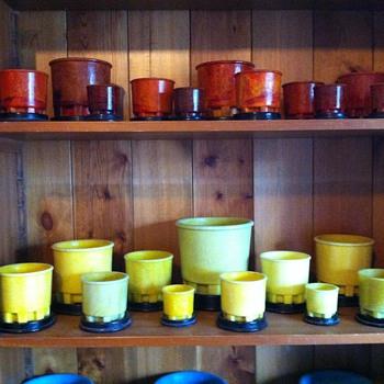 rearranged the pots - Art Glass