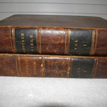 Family Bibles Dated 1834 - Books