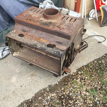 Vintage wood stove???