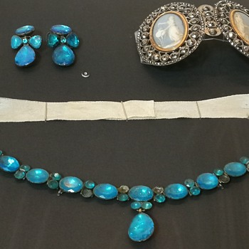 For jewelry lovers - guess when the blue pieces were made  - Fine Jewelry