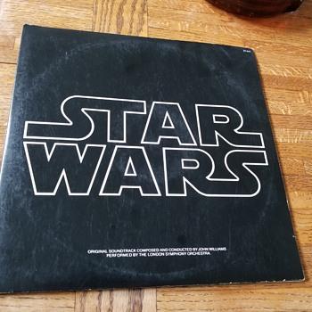 Star Wars Soundtrack vinyl 1977 - Movies