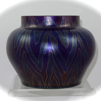 Glasfabrik Schliersee vase, ca. 1908 - Art Glass