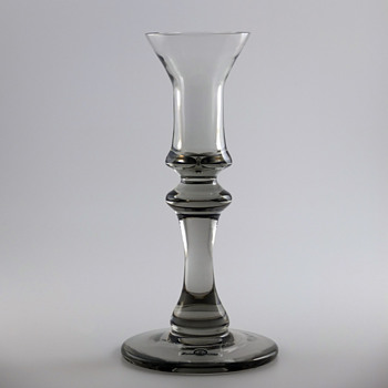 Candlestick - Gunnar Cyrén for Strömbergshyttan 1977-78. - Art Glass
