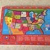 Vintage USA children's sectional puzzle