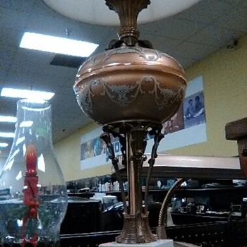antique lamp