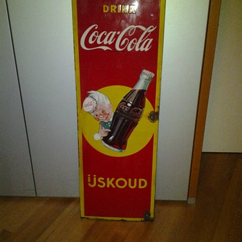 My new 1949 sign - Coca-Cola