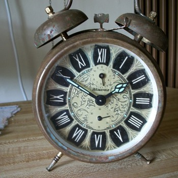 Wedgefield Double Bell Alarm  Clock - Clocks