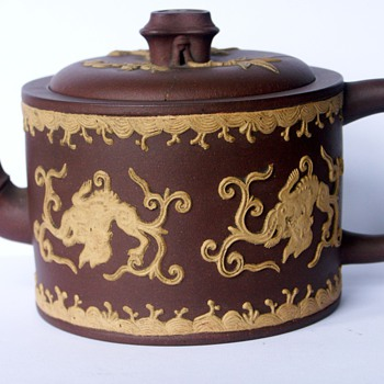 Puzzling Small Early English Redware Teapot Wedgwood?   - Pottery
