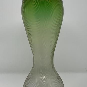 "Loetz ""Fortuna"", Blattgrün Verlaufend, PN II-1336, ca. 1904 - Art Glass"