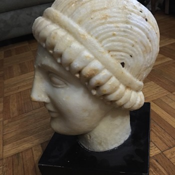 Antiquities Ancient Roman Greek Sculpture Marble $10 - Fine Art