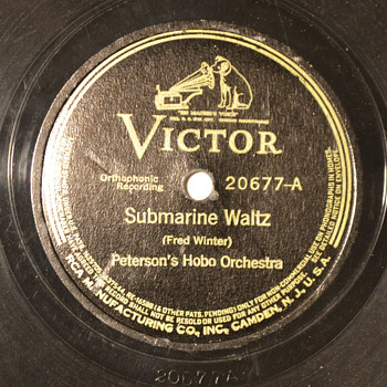 WBW - Peterson's Hobo Orchestra - Submarine Waltz - Records