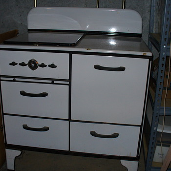 Gas 1920's (?) Stove - Maybe Detroit Jewel?  Planning to Restore