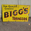 Biggs Tobaccos Sign