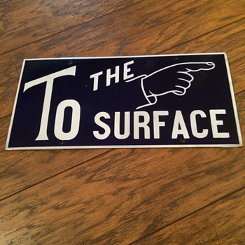 To The Surface - Pointing Finger Sign - Signs