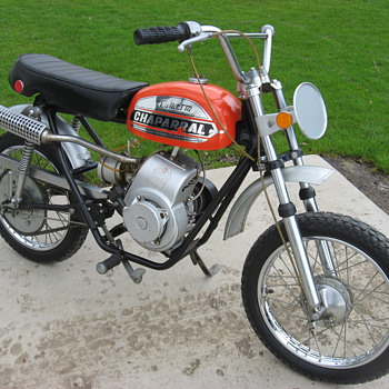 1972 Chaparral mini-bike T-172 Bullet - Motorcycles