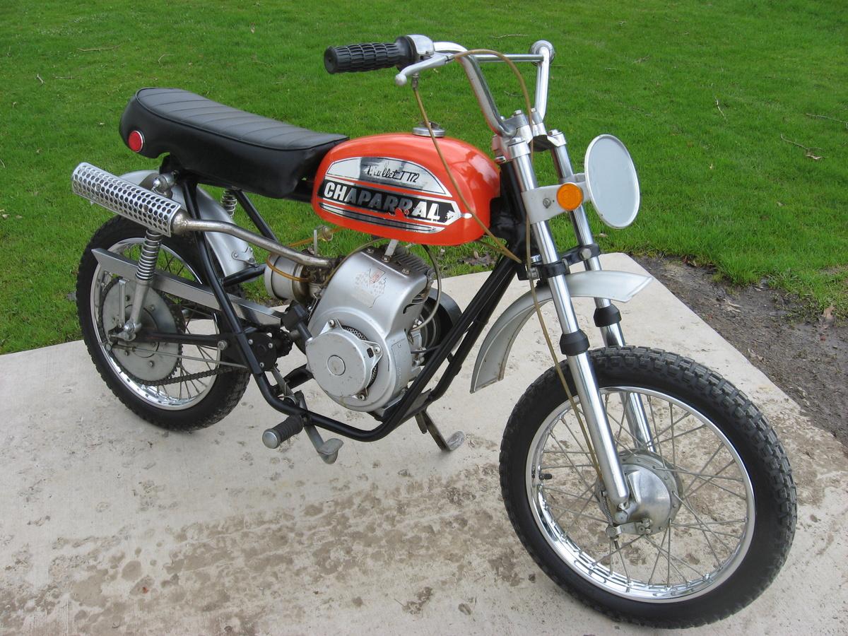 1972 Chaparral Mini Bike T 172 Bullet Collectors Weekly