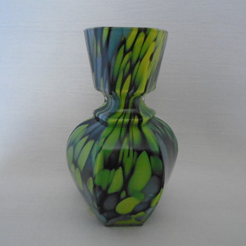 Welz Miniature Hexagonal Vase  - Art Glass