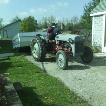 N8 Ford Tractor