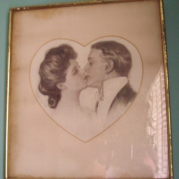 """Early 20th century """"love"""" - Posters and Prints"""