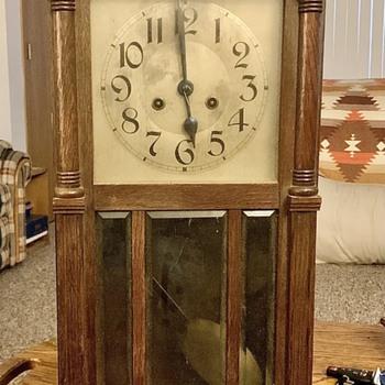 19th Century Wall Clock Kienzle or Kraft Behrens - Clocks