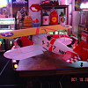 Old Radio Controlled Balsa Wood Bi-plane...Navy Theme