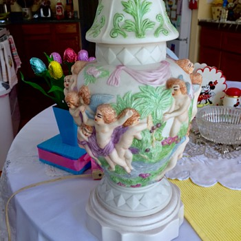 Hand Painted Lamp ! - Lamps