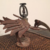 Scrap Metal Sprinkler Back Vulture or Buzzard