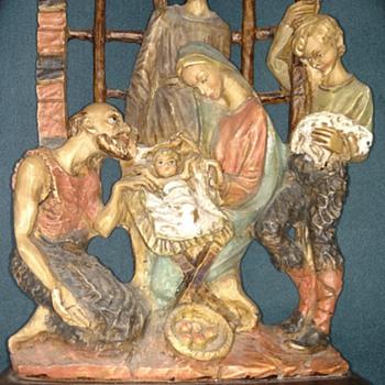Nativity Italian Sculpture