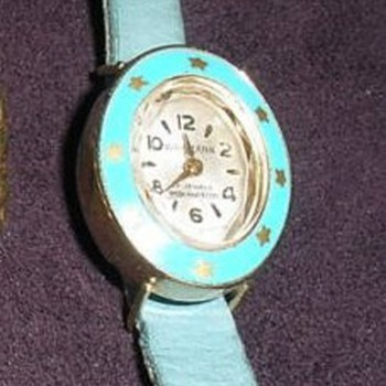 Rare Wakmann (Breitling House) Lady /Girl Watch - Wristwatches