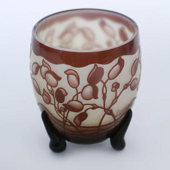Loetz Cameo Glass - Art Glass