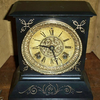 Any Info on the Beautiful Ansonia Mantel Clock? - Clocks