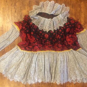 Cherished Antique Ethnic Lace Top