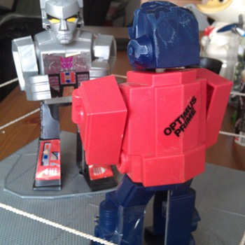 Vintage Hasbro 1985 Transformers Rockem Sockem Robots - Toys