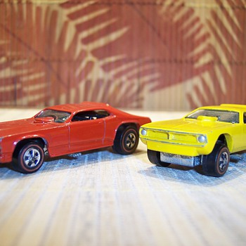 These two were from the Mongoose Snake drag set. - Model Cars