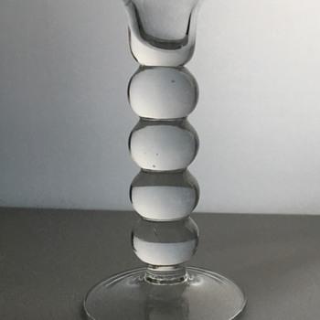 Vintage glass candle holder? - Art Glass