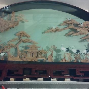 Chinese Cork Art Vintage?