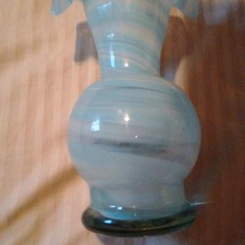 Unknown art glass maker Mark. - Art Glass