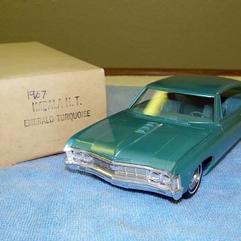 A few Chevrolet Promo Model Cars