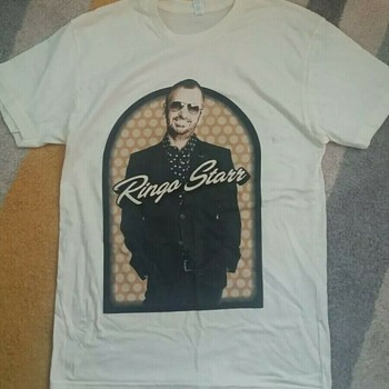 Ringo Starr owned tour shirt-2012-2013 - Mens Clothing