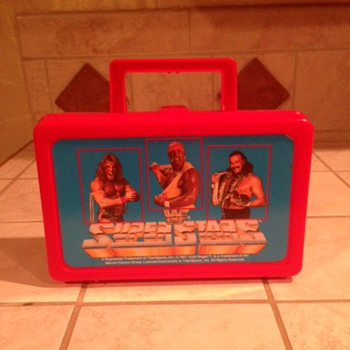 WWF Superstars Lunchbox